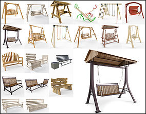 3D Swings and benches