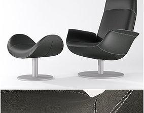 erik joergensen - pearl chair 3D model