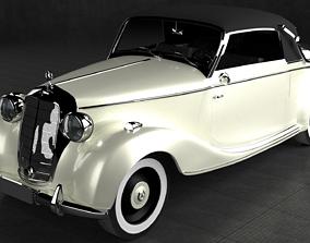 3D model 1939 Mercedes-Benz 170 S Cabriolet