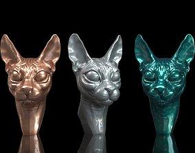 3D print model cats Cat sphynx