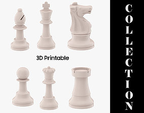 Chess Pieces Collection - 3D Printable