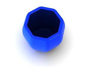 3D print model pot 24