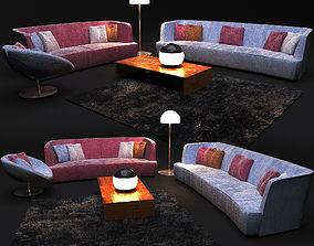 3D Sofa in modern style FLEXFORM FRANCIS