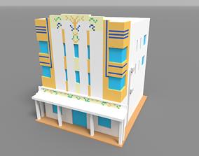 3D model Voxel Miami Hotel 11