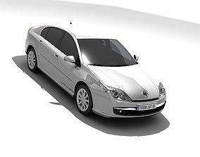 3D model Renault Laguna III 2007
