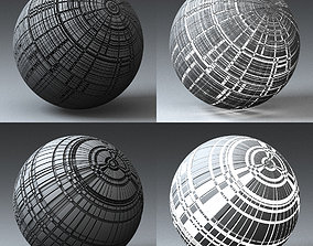 Syfy Displacement Shader H 001 g 3D model