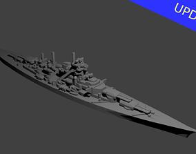 German Bismarck Class 3D printable model