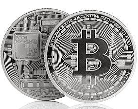 Bitcoin 3D printable model token