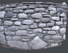 Rocky wall 3D asset