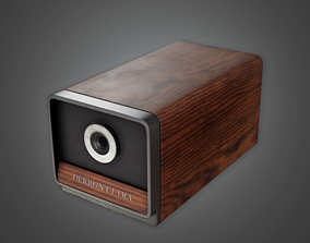 CLA - Pencil Sharpener 01 - PBR Game Ready 3D asset
