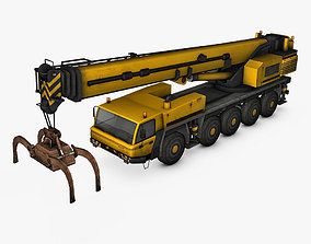 Mobile Crane 3D