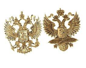emblem of Russia 3D printable model