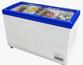 food Ice Cream Freezer 3D