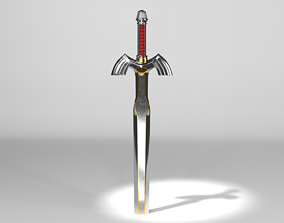 Master sword A Link to the Past 3D model