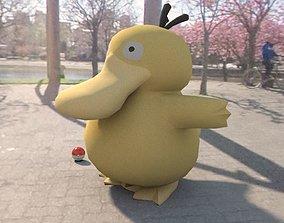 Pokemon psyduck 3D model