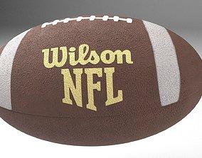 3D asset American Football Ball - Wilson NFL