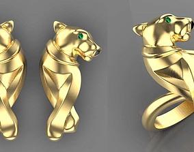 earrings rings 3D printable model