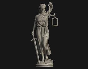statue Themis Printable