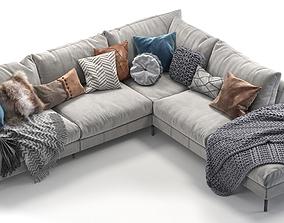 3D Pohjanmaan Loft corner sofa