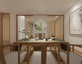3D model Japanese Chinese style Japanese Chinese style 1