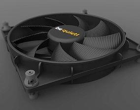 Be Quiet Shadow Wings 140mm PC Fan 3D model