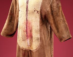3D asset Cosplay Bloody Bear Costume
