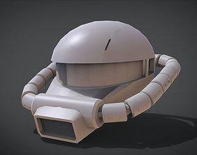 MS-06 ZAKU II Head 3D print model
