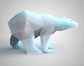 3D print model Polar bear