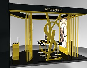 3D YSL stand