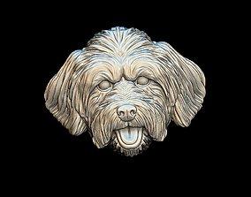 animal Lhasa Apso dog pendant 3D print model