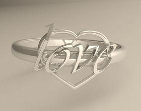 3D print model Your beloved ring