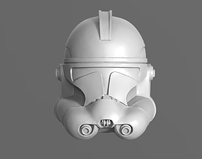 3D print model C galaxy Trooper P2 Helmet Fan Art