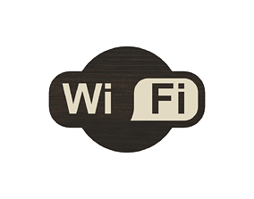 3D printable model WIFI sign for your business or home