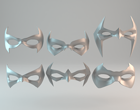 3D print model 6 Batman sidekicks eye masks