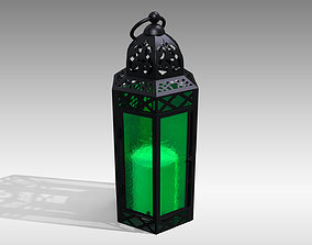 3D asset Moroccan Lantern 03