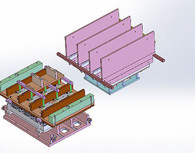 3D Thermoform plate mold - 4 plate models