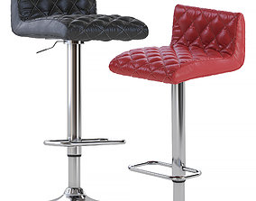 Coen Adjustable Bar Stool 3D