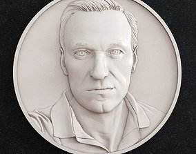 Alexey Navalny 3D printable model