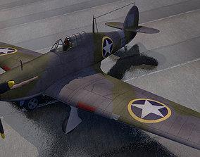 Hawker Sea Hurricane - USAF 3D model