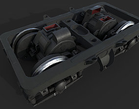 3D model VL80 - Trolley For Locomotive