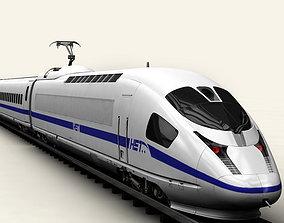 Generic High Speed Train 3D model