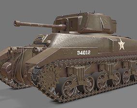 Ram II Tank 3D model
