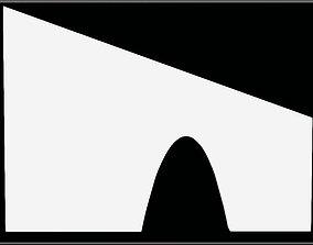 Arch Parabolic Drangarnir 3D model