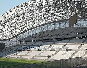 3D model Stade Velodrome