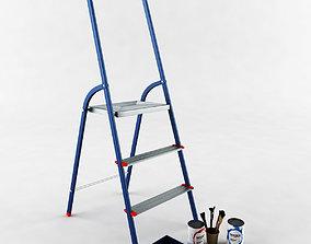 3D model Ladder step