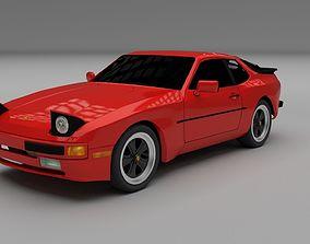 3D Porsche 944