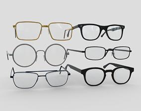 3D model Glasses Pack