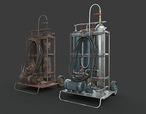 3D asset VR / AR ready Portable machinery device