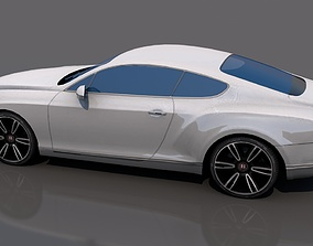 Bentley gtv8 3D asset VR / AR ready