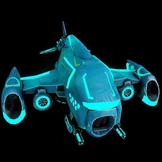scifi drone